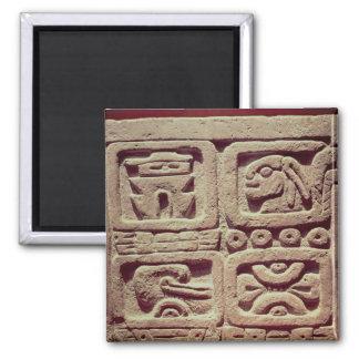 4つのグリフのカレンダー、Toltec マグネット