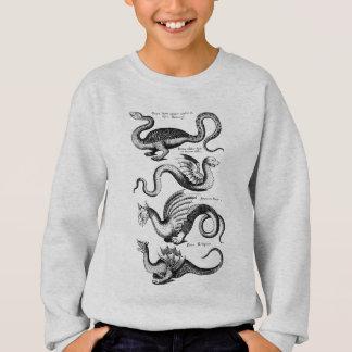 4つのドラゴン スウェットシャツ