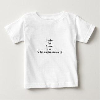 4つの事 ベビーTシャツ