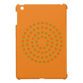 4つの完全な円(目の錯覚) iPad MINIケース