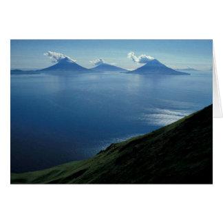 4つの山の島 カード