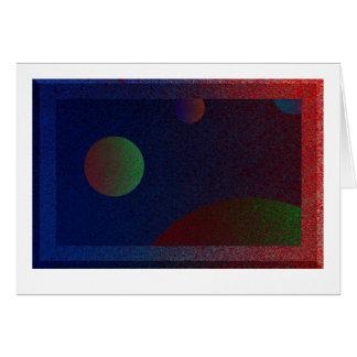 4つの惑星か。 カード