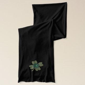 4つの葉のクローバーのジャージーのスカーフ スカーフ