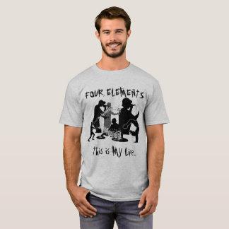 4つの要素のパート2 Tシャツ