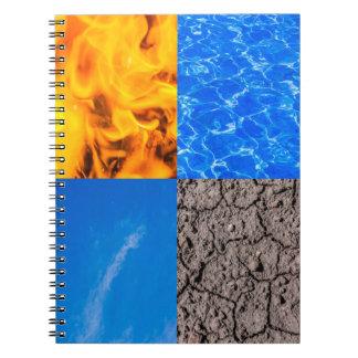4つの要素 ノートブック