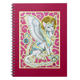 4つの足のノートの天使の歩行 ノートブック