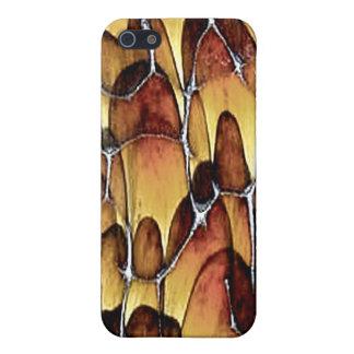 4または4Sのためのカメの貝デザイナーiPhoneの場合 iPhone 5 ケース