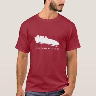4人のボブスレーのTシャツ Tシャツ