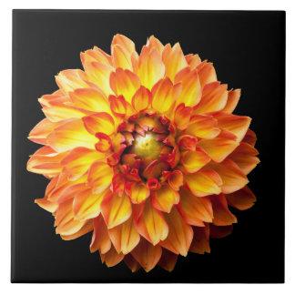 4人の女王のダリアの花 タイル