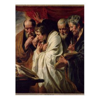 4人の福音伝道者 ポストカード