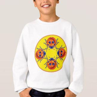4匹のてんとう虫 スウェットシャツ