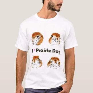 4匹のプレーリードッグ、 Tシャツ