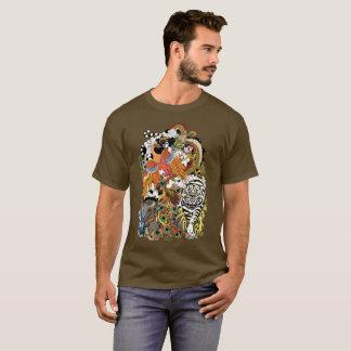 4匹の天動物 Tシャツ