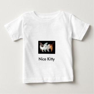 4匹の猫 ベビーTシャツ