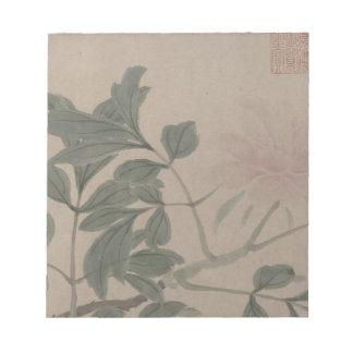 4季節の花-センZhou ノートパッド