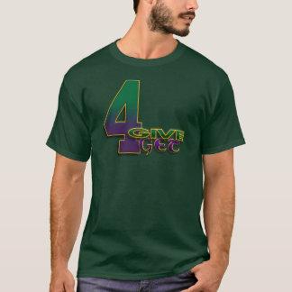 4得ます4 Favreに深緑色のTシャツを4与えて下さい Tシャツ