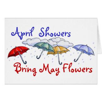 4月のシャワー-カード カード