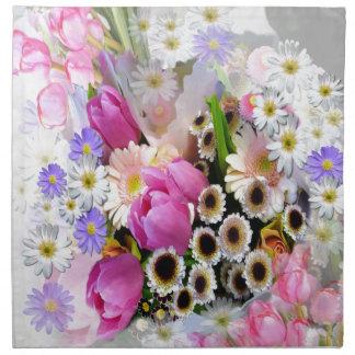 4月の花束 ナプキンクロス