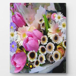 4月の花束 フォトプラーク
