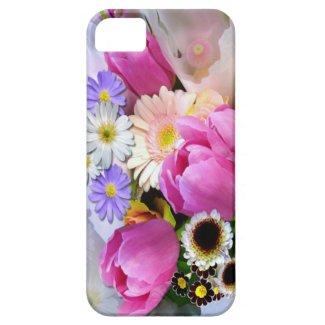 4月の花束 iPhone 5 カバー