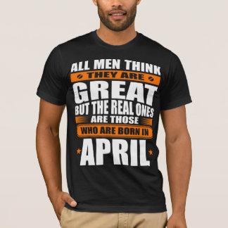 4月の誕生日 Tシャツ
