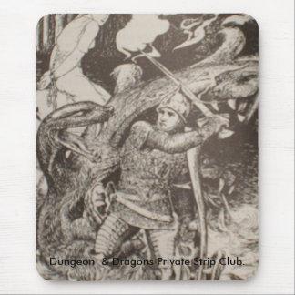 4月2008日の新刊書211、地下牢及びドラゴンP… マウスパッド
