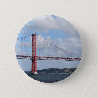 4月25日橋 5.7CM 丸型バッジ