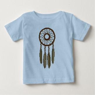 4本の羽のDreamcatcherピクセル ベビーTシャツ