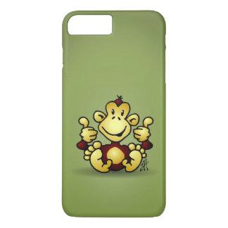 4本の親指を搭載する猿 iPhone 8 PLUS/7 PLUSケース