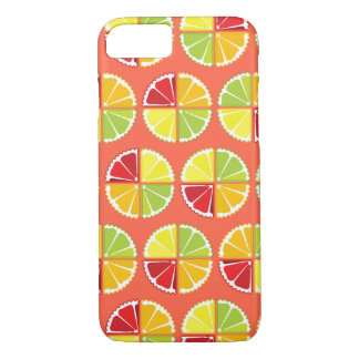 4柑橘類パターン iPhone 8/7ケース
