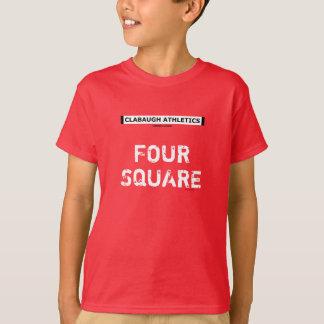 4正方形 Tシャツ