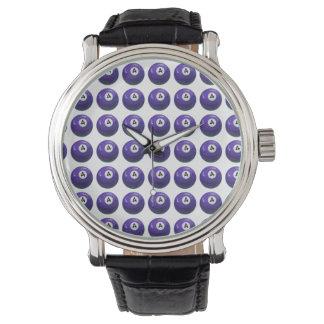 4玉突の玉パターン 腕時計