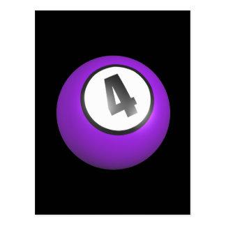 4球 ポストカード