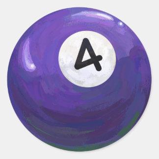 4球 ラウンドシール