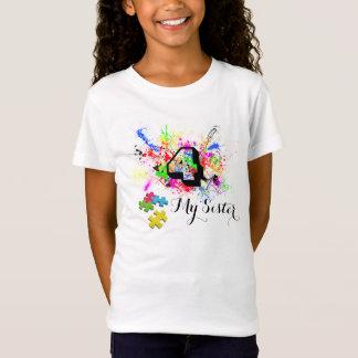 4私の姉妹(自閉症)のBellaのベビードールのワイシャツ Tシャツ