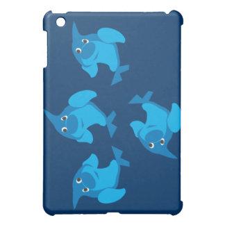 4頭のイルカ iPad MINIケース