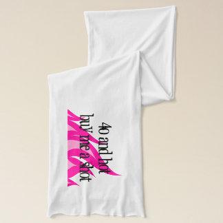 40および熱い私を女性のための打撃の誕生日のスカーフ買います スカーフ