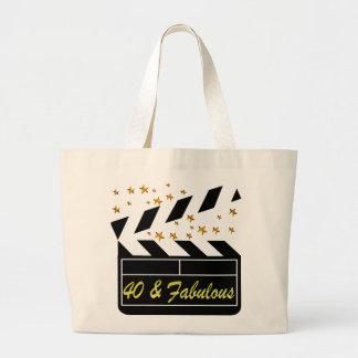 40そしてすばらしい映画女王 ラージトートバッグ
