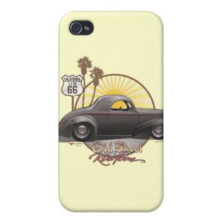 40ウイリーの古いSkool Kustom iPhone 4/4Sケース