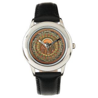 [400]エジプト人の太陽神のRA 腕時計