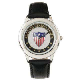 [400]高級副官の隊の兵科記章[3D 腕時計