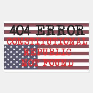 404心配、共和国体質性、オバマケア 長方形シール