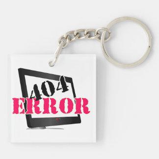 404間違い キーホルダー
