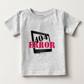 404間違い ベビーTシャツ