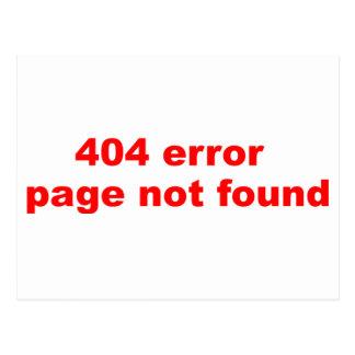 404間違い ポストカード