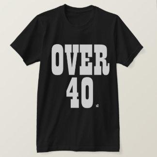 40 x2に tシャツ