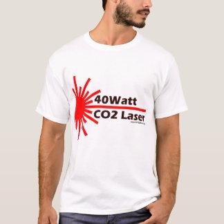 40Watt二酸化炭素レーザーの衣服! Tシャツ