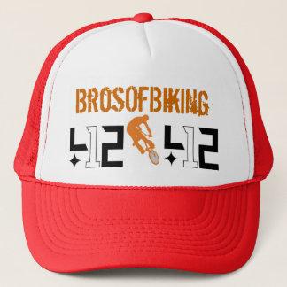 412 BrosOfBiking キャップ