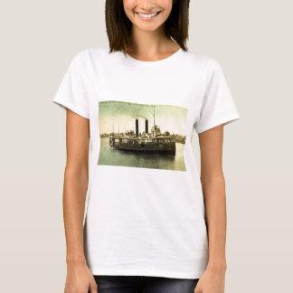 4134汽船、ベイ・シティ、MIニューヨーク州 Tシャツ