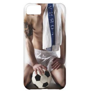 41873aサッカーの運動選手 iPhone5Cケース